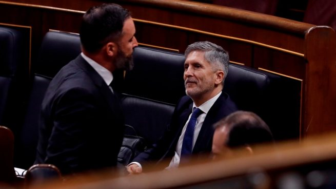 Vox acusa a Marlaska de «debilitar la democracia» e implantar un «estado policial»en España