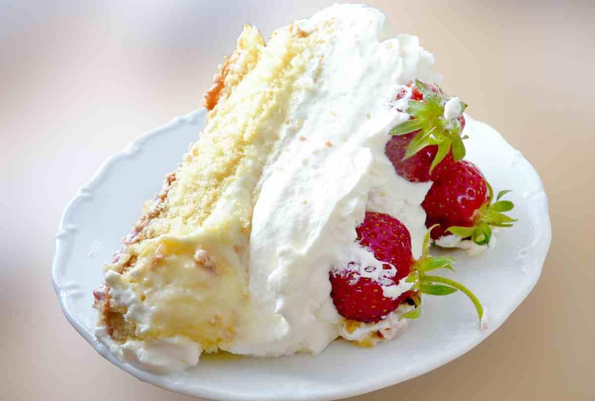 La más deliciosa tarta de fresas