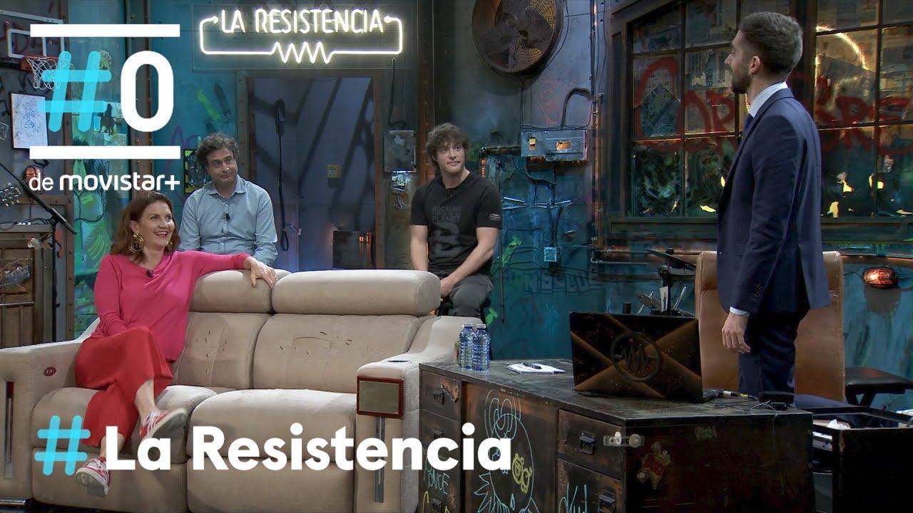La La Resistencia: David Broncano entrevista a Samantha Vallejo-Nágera, Jordi Cruz y Pepe Rodríguez David Broncano entrevista a Samantha Vallejo-Nágera, Jordi Cruz y Pepe Rodríguez
