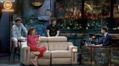 Samantha, Jordi y Pepe en 'La Resistencia'