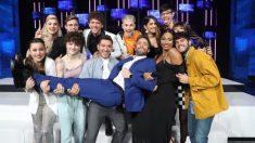 Los concursantes de 'OT 2020' con Roberto Leal