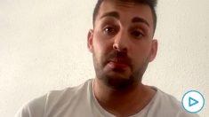 Pedro, el joven que expulsó a la Policía del domicilio en el que se encontraba en Palma de Mallorca.