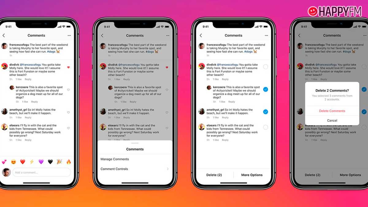 Instagram ya permite borrar respuestas a tus publicaciones