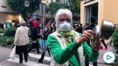 Protesta contra Sánchez en Núñez de Balboa