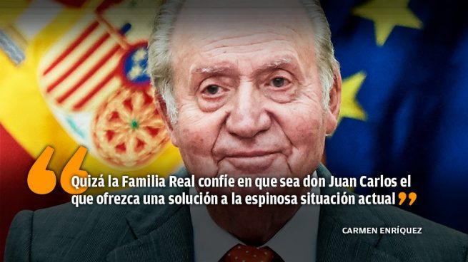 El Palacio de la Zarzuela no aborda ahora el futuro del Rey Juan Carlos