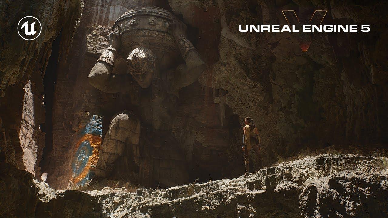Unreal Engine 5 Así seran los gráficos de PlayStation 5 y Xbox Series X