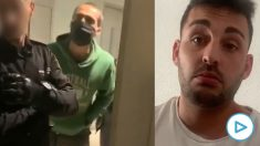 Pedro, el joven que expulsó a los agentes del domicilio al no tener una orden judicial.