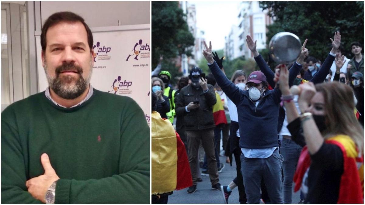 Alfonso Reyes y las protestas en Núñez de Balboa.