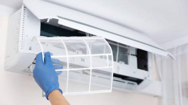 limpiar desinfectar aire acondicionado