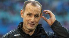 Heiko Herrlich, entrenador del Augsburgo. (AFP)