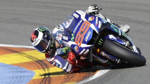 Jorge Lorenzo durante su anterior etapa en Yamaha. (AFP)