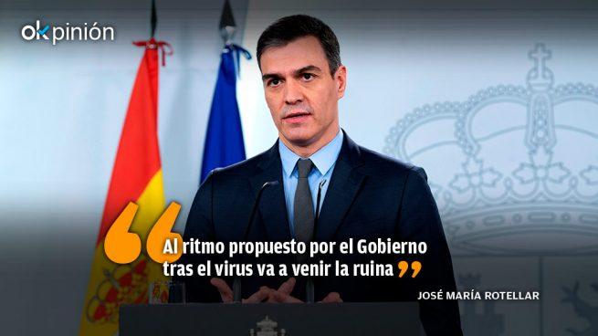 El asedio del Gobierno a Madrid