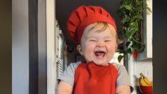 TikTok: El bebé chef que comparte recetas y conquista corazones