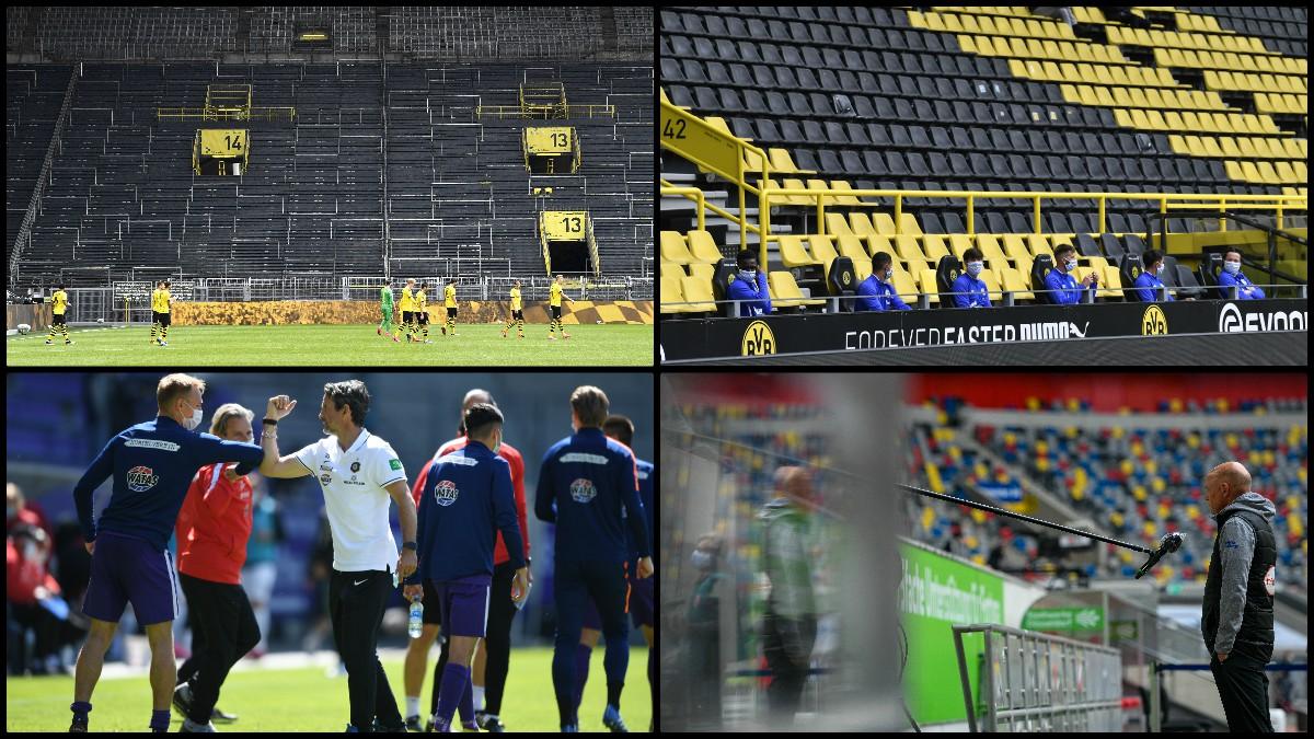 Las mejores imágenes del nuevo fútbol en Alemania. (Getty y AFP)