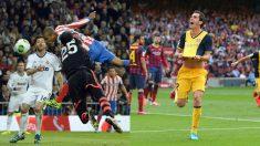 Miranda y Godín dieron la Copa del Rey en 2013 y la Liga en 2014 al Atlético de Madrid un 17 de mayo.