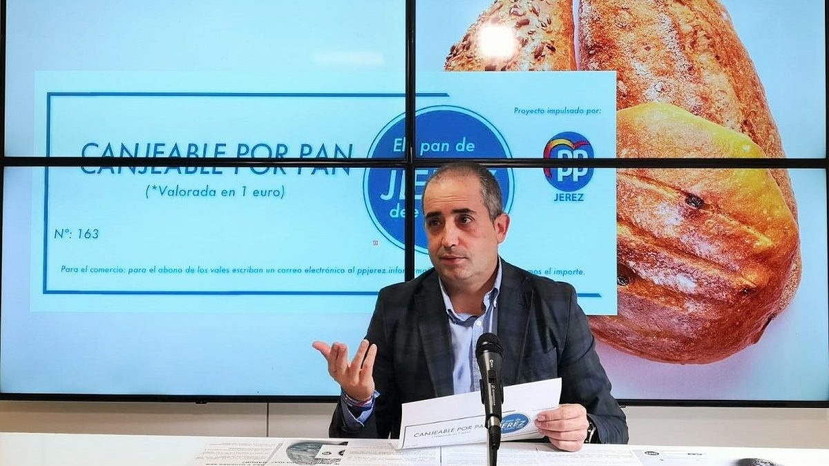 Cádiz.-Coronavirus.- PP pone en marcha 'El pan de Jerez de cada día' para ayudar a las familias más vulnerables