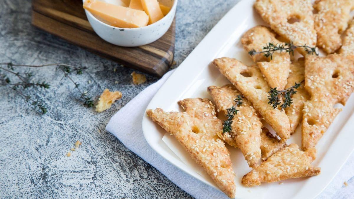 Receta de galletas de patata y queso para niños