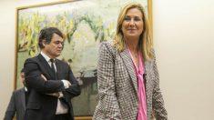 La vicesecretaria de Organización del PP y presidenta de los populares navarros, Ana Beltrán.