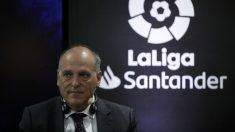 Javier Tebas, presidente de LaLiga (Getty).