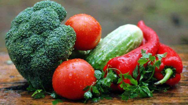 Color de los alimentos