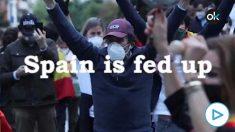El vídeo en inglés que difunde las protestas contra el Gobierno en el mundo: «España está harta».