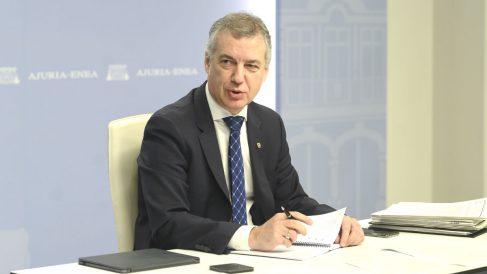 El lehendakari Iñigo Urkullu. (Foto: Europa Press)