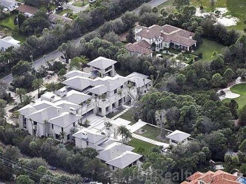 La mansión de Michael Jordan (Concierge Auctions).