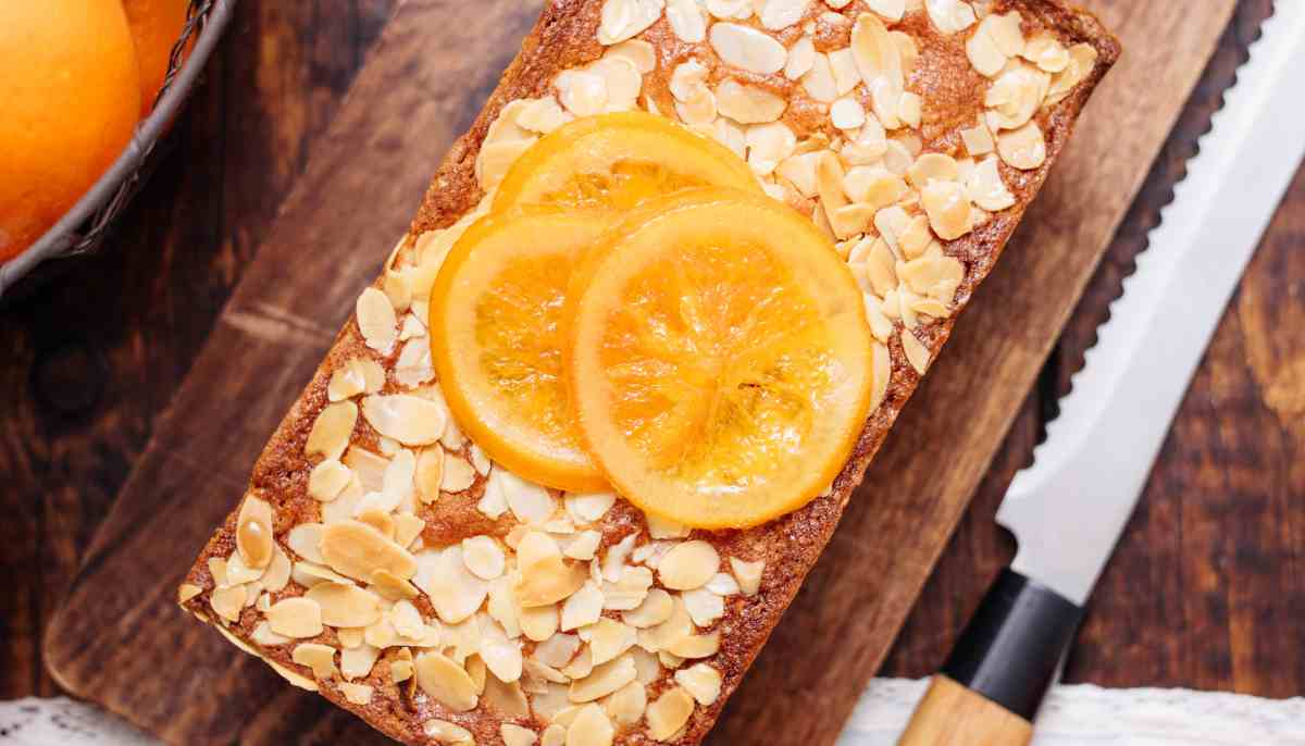 Receta de Tarta de almendras y naranja