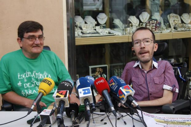 Echenique decía en 2014 que estaría «encantado» de recibir escraches cuando gobernara Podemos