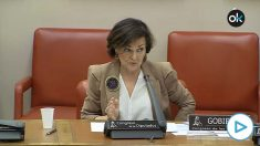 Carmen Calvo da con el porqué del virus en España: «Nueva York, Madrid, Teherán y Pekín están en línea recta».