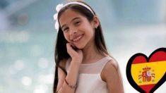 Melani representó a España en 'Eurojunior 2019'