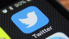 Imagen de Twitter en un movil.