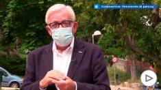 Sánchez Martos insiste en que «la mascarilla no funciona si no se coloca correctamente»