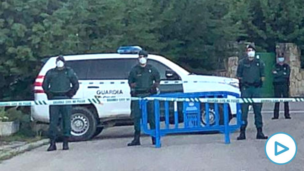 La Guardia Civil corta el acceso al casoplón de Iglesias