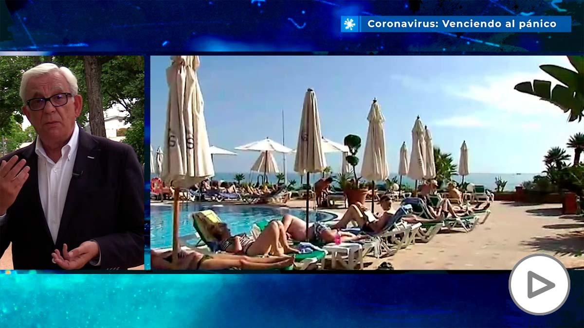 Sánchez Martos: «En la piscina como en la playa, habrá que mantener la distancia de seguridad»