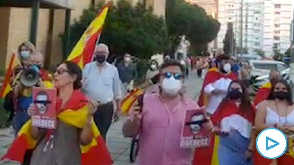 Tercer día de protestas contra el Gobierno en Sevilla.