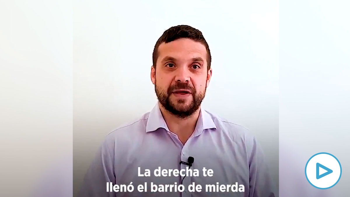 Jesús Santos, líder de Podemos en Alcorcón.