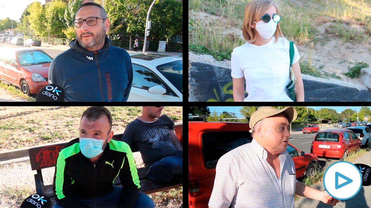 Vecinos del madrileño barrio de Vallecas critican que Pablo Iglesias les haya olvidado.