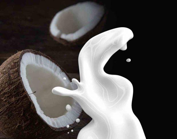 Corvina cocinada al aroma de coco
