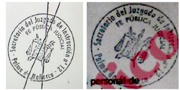 Roures publica el informe 'fake' de Villarejo con un sello del caso Cursach pero que nadie ha visto en el sumario de Palma