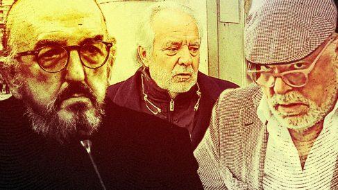 Jaume Roures, Bartolomé Cursach y José Manuel Villarejo.