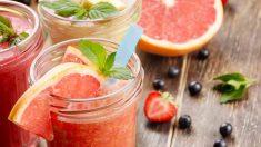 Receta de smoothie de pomelo y mango