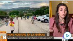 Irene Montero anima a montar escraches en las casas de Casado, Abascal y Ayuso: «Terminará pasando» (Vídeo: TVE).