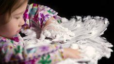 Los pasos para que los niños aprendan a pintar con espuma de afeitar