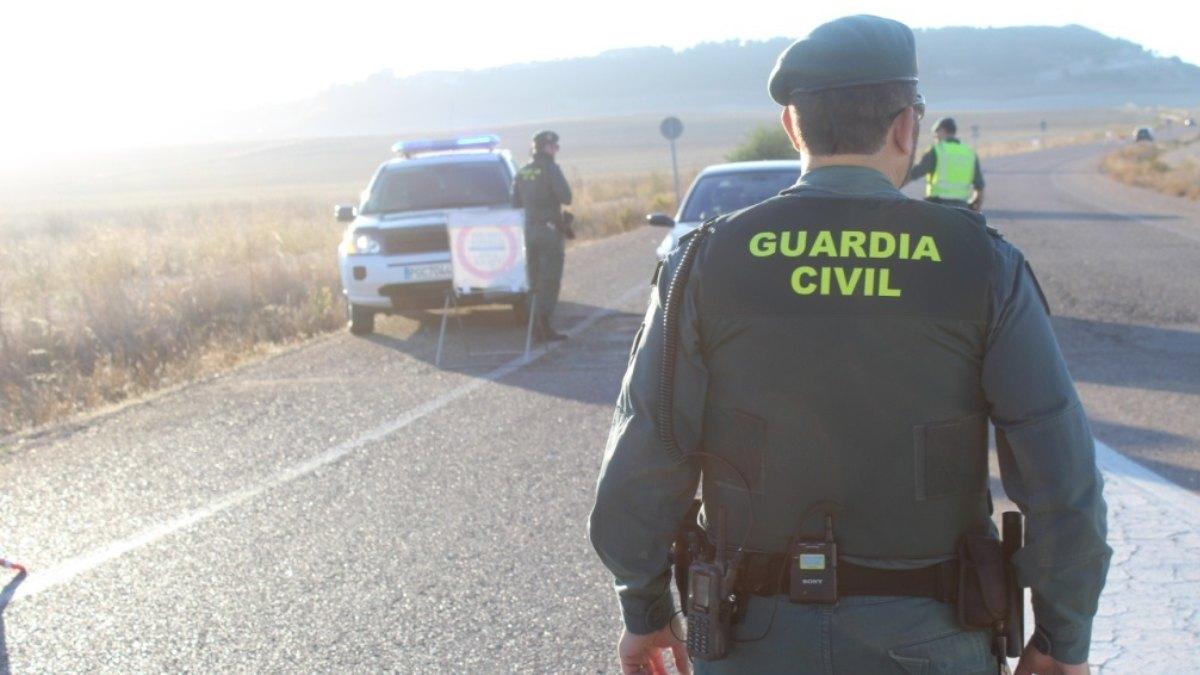 Control de la Guardia Civil. Foto: EP