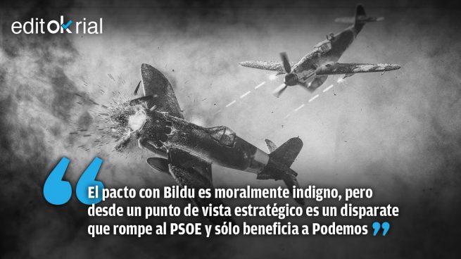 Pedro Sánchez, el piloto suicida