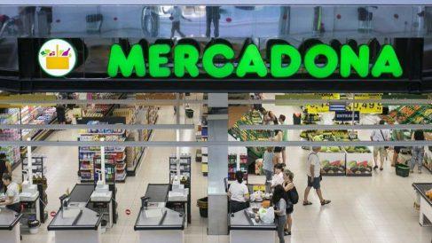 Uno de los 1.634 supermercados de Mercadona en España.