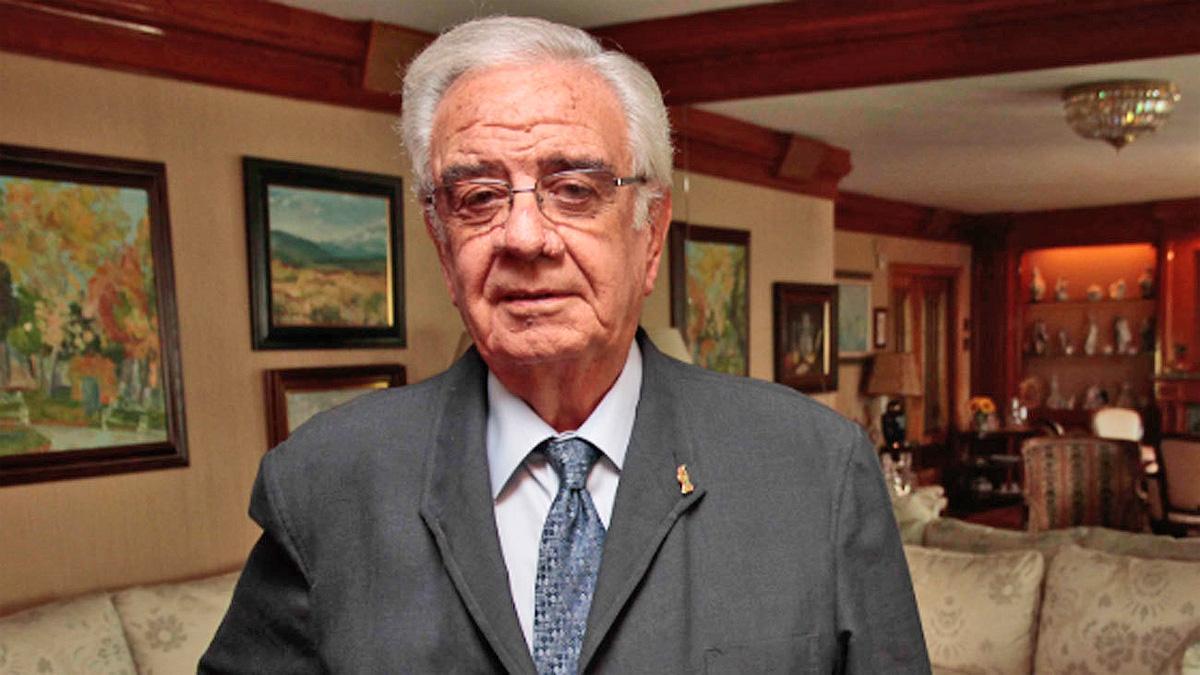 Ramón Rodríguez Arribas, ex vicepresidente del TC.