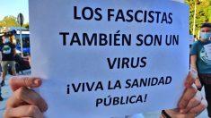 Fotografía difundida por Podemos Moratalaz.