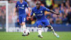N'Golo Kanté, en un partido con el Chelsea. (Getty)